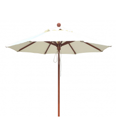 Recambio telaje parasol madera Ø2m