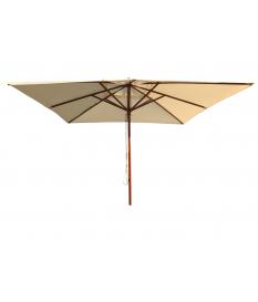 Recambio telaje parasol madera 3x3m