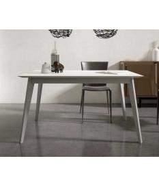 Mesa de comedor retro rectangular