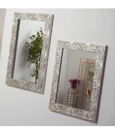 Espejo decorativo tallado Kendra