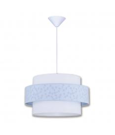 Lámpara de techo infantil Luna dos pantallas 497