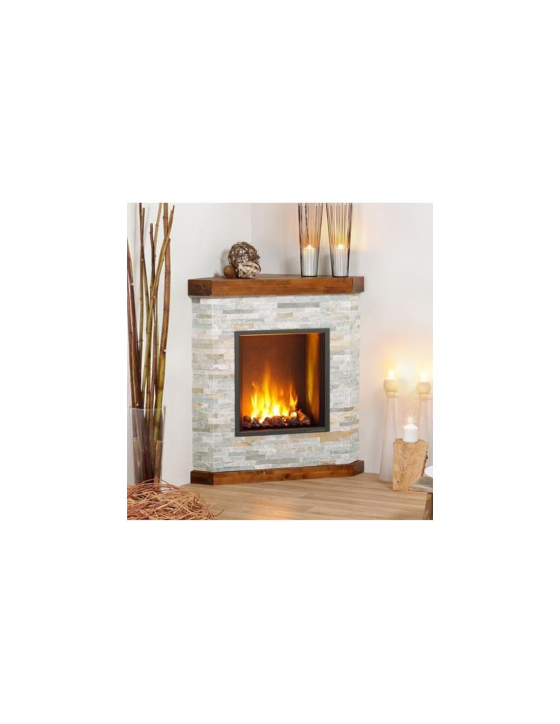 Comprar chimenea el ctrica esquina - Chimeneas artificiales decorativas ...