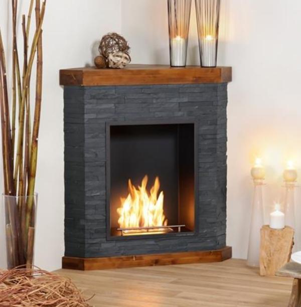 Chimenea electrica con mueble alrededor del fuego instala una chimenea electrica o de bioetanol - Chimenea electrica mueble ...