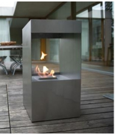 Chimenea bioetanol mod. Motion Pool