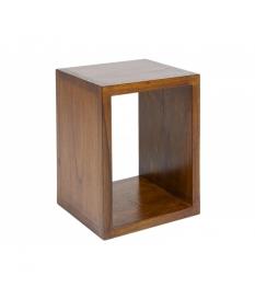 Estante cuadrado de madera