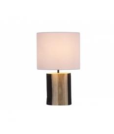 Lámpara mesa tronco