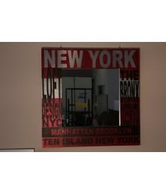 Espejo cuadrado Nueva York