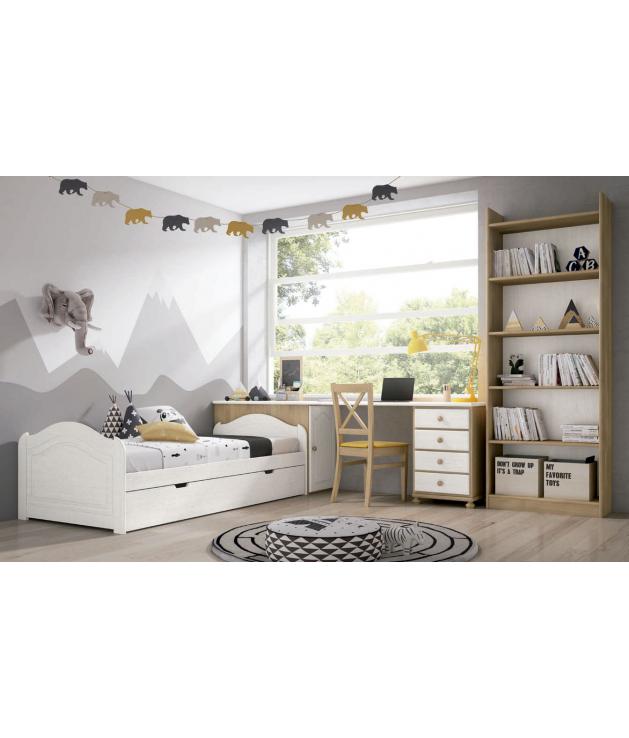 Habitación juvenil cama nido Carole