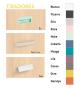 Habitación juvenil cama compacta Basic15