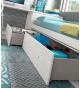 Habitación juvenil cama nido con cajones Basic27