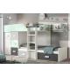 Habitación juvenil cama block Basic 36