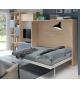 Habitación juvenil cama abatible 135 cm Basic 43