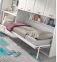 Habitación juvenil cama abatible con armario Basic 44