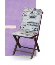 Cojín silla de jardín Loneta Black and White