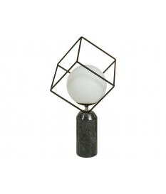Lámpara mesa marmol