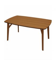 Mesa de comedor rectangular madera color haya