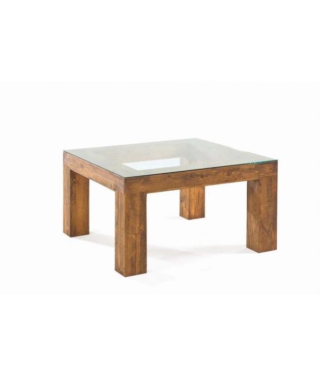 Comprar Mesa comedor rustica Zoom cuadrada fija