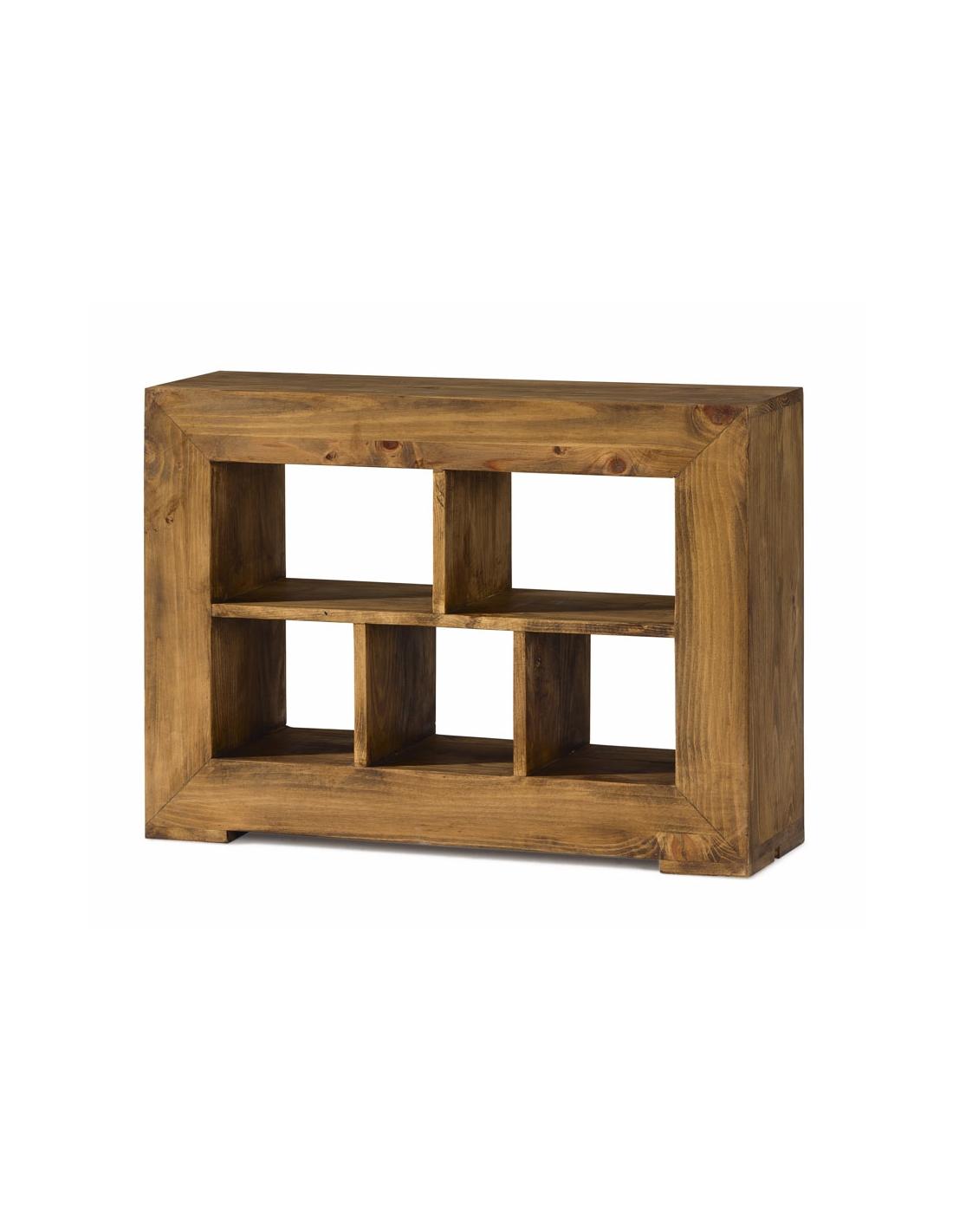 Comprar mesa de centro rustica de madera zoom for Mesas madera rustica