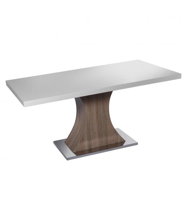 Mesa de comedor madera y metal