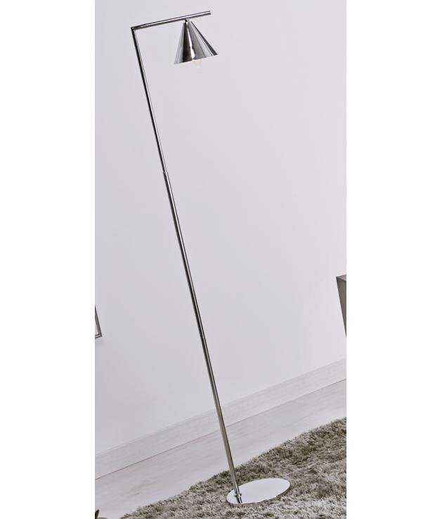 Lámpara de pie Hannes plata