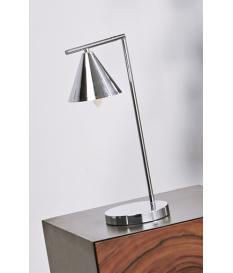 Lámpara de sobremesa Hannes plata