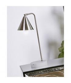 Lámpara de sobremesa Viveka plata