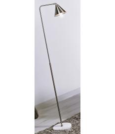 Lámpara de pie Viveka plata