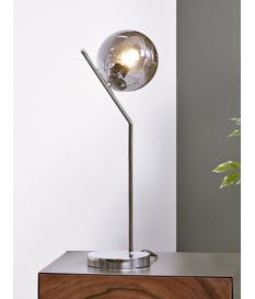 Lámpara de sobremesa Moss plata