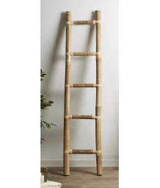 Toallero caña bambú natural