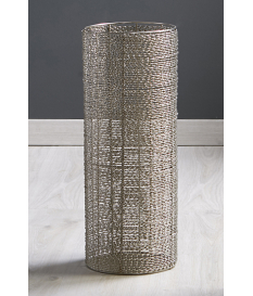 Paragüero aluminio Espiral plata