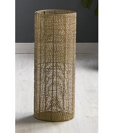 Paragüero aluminio Espiral oro