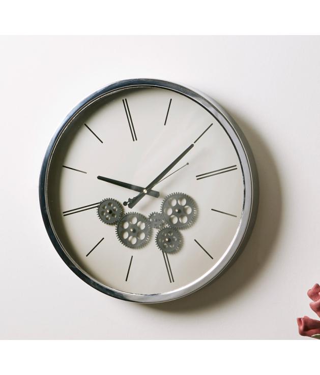 Reloj de pared mecanismo acero