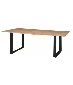 Mesa de comedor madera acacia natural