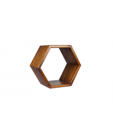 Estante Nordic hexagonal