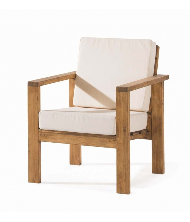 comprar sill n de madera rustico de la colecci n minimal