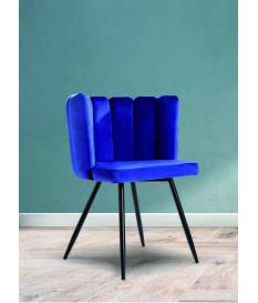 Silla Lilium azul