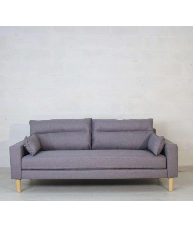 Sofá Túnez gris 2p