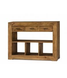 Consola rustica madera