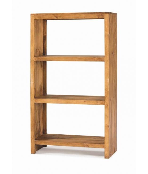 Comprar estanter a de madera en estilo rustico de 80 cm de - Estanterias rusticas de madera ...