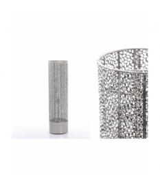 Lámpara suelo metal 22x22x80 cm