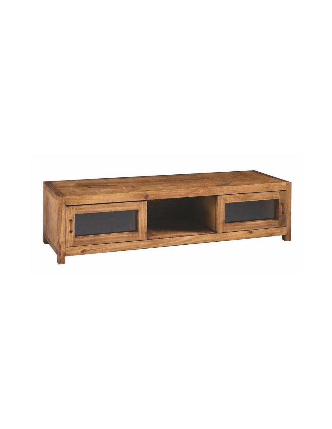 Comprar mueble tv de madera estilo rustico de 125 cm - Muebles estilo rustico ...