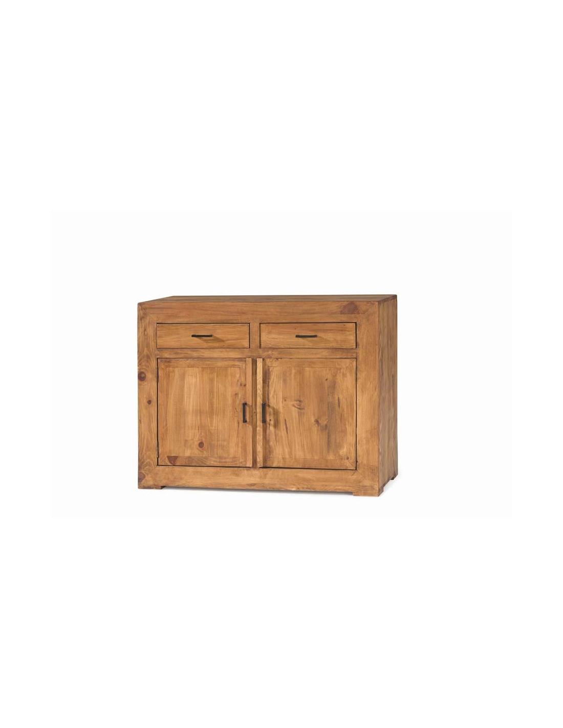Comprar c moda de madera de 116 cm de ancho colecci n zoom for Comoda 50 cm ancho