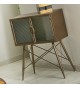 Mueble auxiliar metal modelo Ozan