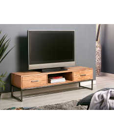 Mueble TV Neith madera de acacia y metal