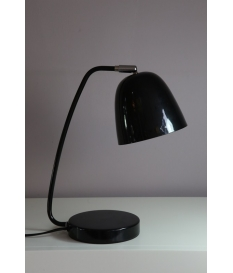 Lámpara sobremesa metal negra