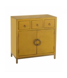 Mueble recibidor Xian amarillo
