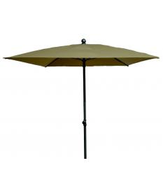 Parasol acero galvanizado 155 x 155 cm