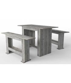 Mesa alta madera autoclave