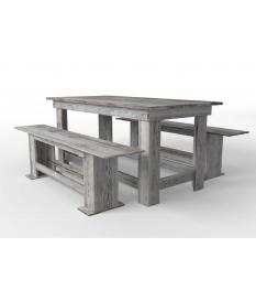 Mesa de comedor madera autoclave