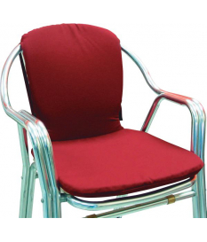 Cojín asiento curvo hostelería Textilene
